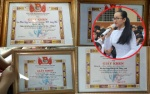 Dân mạng rần rần 'soi' lại bảng thành tích học tập 'siêu khủng' của nữ sinh Phạm Song Toàn tại Trường THPT Long Thới