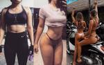 9X từ bụng mỡ dày đặc đến thân hình bốc lửa chỉ trong vòng 1 tháng và sự 'thần kì' của gym