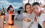 Vợ chồng Bình Minh lãng mạn kỷ niệm 10 năm ngày cưới ở 'quốc đảo thiên đường'