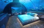 Khách sạn xa hoa dưới đáy biển đầu tiên trên thế giới, nơi du khách được ngủ cùng cá