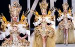 Võ Hoàng Yến hóa quân vương gây choáng ngợp sàn diễn VIFW với thiết kế lấy cảm hứng hoàng gia Pháp