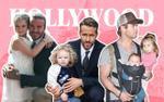 Những ông bố nhà sao Hollywood điển trai, tài năng nhưng vẫn không kém phần mẫu mực