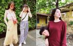 Nhìn Trang Hý và Trinh Xíu chơi cùng nhau, cô gái nào cũng muốn có một tình bạn 'lệch pha' như thế