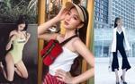 Jolie Nguyễn 'đón đầu' xu hướng mũ lưỡi trai, em gái Angela Phương Trinh đăng ảnh áo tắm, sexy chẳng kém chị ruột
