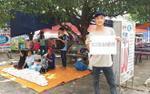 Những bữa cơm chay miễn phí ấm lòng người nghèo của sinh viên Đại học Nông Lâm TP.HCM