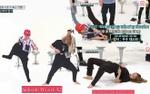 Fan bó tay trước kĩ thuật mặc quần không dùng tay đầy bá đạo của Hee Chul - Hani - Jackson