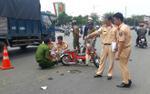 Va chạm giao thông, nữ sinh chết thảm dưới bánh xe tải
