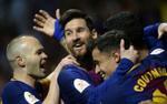 Lập hat-trick mãn nhãn, Messi giúp Barca giành chức vô địch đặc biệt