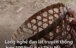 Làng nghề đan lát hơn 100 tuổi ở Sài Gòn