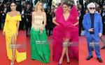 Thảm đỏ Cannes ngày 4: Hộp bút chì màu đây rồi!
