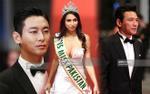 'Thái tử' Ju Ji Hoon đẹp hút hồn sánh đôi cùng Miss Pakistan 'ngực khủng' tại Cannes ngày thứ 4