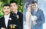 Đau tim trước 'ảnh cưới' siêu lãng mạn của cặp đôi Bùi Tiến Dũng và Đức Chinh