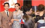 Hứa Vĩ Văn - Kỳ Duyên fashion thời thượng, Trấn Thành ngọt ngào chăm sóc Hari Won tại họp báo