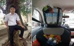 Tài xế Grab có cả tiệm tạp hóa trên xe: 'Làm thế cho khách vui, không khí trên xe đỡ nhàm chán hơn'