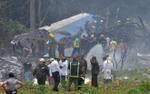 Máy bay rơi ở Cuba, hơn 100 hành khách tử nạn