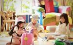 Tiện ích '5 sao' trong căn hộ áp mái 500 m2 của vợ chồng Trần Hạo Dân và 4 con