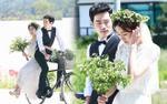 Bất ngờ trước bộ ảnh cưới 'cổ tích' đẹp mê hồn của UEE và Kim Kang Woo, nhìn là muốn kết hôn