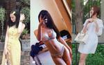 Jun Vũ nóng bỏng hết cỡ cùng bikini tí hon, Angela Phương Trinh diện cả cây vàng nổi bật đón hè