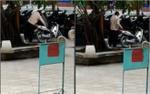Xôn xao clip nghi bảo vệ trường ĐH móc cốp xe của sinh viên để trộm đồ