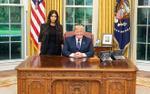 Tổng thống Trump đăng ảnh cuộc gặp 'cô Kim siêu vòng 3' tại Nhà Trắng