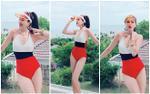 Nối bước Đông Nhi, đến lượt Bảo Thy tung ảnh bikini nóng bỏng khoe thân hình nuột nà