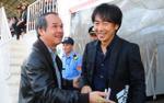 Vì sao bầu Đức, HLV Miura và Hữu Thắng không gặp nhau vào chiều nay?