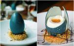 Trông như quả trứng nhưng đây lại là món tráng miệng đầy nghệ thuật từ vị đầu bếp nổi tiếng