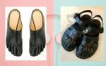 Kiểu giày họa tiết bàn chân đang được cả thế giới lăng-xê, bạn sắm chưa?