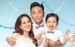 Gia đình Khánh Thi - Phan Hiển quá đáng yêu trong bộ ảnh kỷ niệm