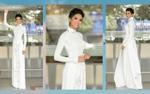 Để tóc ngắn uốn xoăn với áo dài mà vẫn đẹp xuất sắc, chỉ có thể là H'Hen Niê