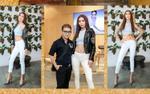 Diện áo ngắn khoe cơ bụng, Minh Tú gợi cảm trong buổi tuyển chọn người mẫu BST 'Phong'
