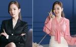 """Soi thời trang công sở lung linh của """"nữ hoàng dao kéo"""" trong phim mới cùng Park Seo Joon"""