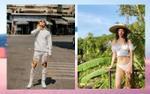 Mai Tiến Dũng mặc quần 'rách nát', Khánh Linh khoe 80% cơ thể vẫn không tức mắt