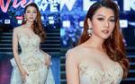 Hoa hậu Thái Nhiên Phương đẹp nghẹt thở trong show thời trang tự thiết kế