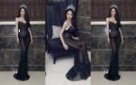 Hương Giang 'hạ gục' fan Thái Lan với chiếc váy xuyên thấu mỏng tang