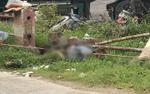 Bàng hoàng phát hiện thi thể người đàn ông bị bê tông đè lên