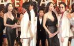 Clip: Nong Poy và Cindy Bishop liên tục nắm tay, thân thiết trò chuyện bên Hương Giang tại sự kiện
