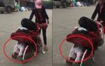 'Hotgirl quỵt tiền' lại gây phẫn nộ khi chất đồ lên mặt và bụng con trai còn ngang ngược cãi 'nó không chết được đâu'