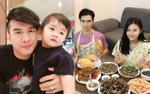 Gia đình sao Việt 24h: Đan Trường đưa con đi dạo phố, Jay Quân trổ tài bếp núc đãi bà xã