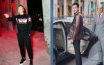 Ăn mặc bảnh bao, Võ Cảnh-Vũ Khắc Tiệp ngồi hàng ghế đầu xem show thời trang tại Ý
