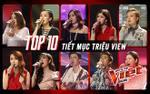 Ai là chủ nhân của top 10 tiết mục triệu view của vòng Giấu mặt Giọng hát Việt 2018?