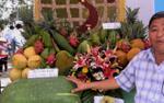 Những loại trái cây khủng trong lễ hội ở Cần Thơ