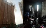 Sạc xe điện trên tầng 23 gây hỏa hoạn chung cư