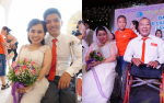 Hành trình tìm đến hạnh phúc của những cặp đôi khuyết tật trong lễ cưới tập thể ở Hà Nội