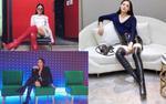 'Đại chiến chân dài' cùng boots 1 mét, Angela Phương Trinh đụng độ Elly Trần với kiểu độc lạ