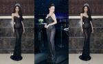 Hương Giang và Á hậu Thư Dung đẹp bất phân thắng bại khi cùng mặc váy lưới xuyên thấu mọi ngóc ngách cơ thể