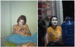 Góc hết hồn nửa đêm: Chị em đắp mặt nạ thôi cũng đủ khiến người khác giật mình