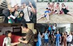 Ngày Gia đình Việt Nam: Phan Anh đưa cả nhà thăm Hogwarts, Quốc Cơ - Quốc Nghiệp cùng con diễn xiếc