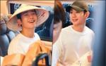 Jung Hae In đẹp trai ngời ngời, đội nón lá thân thiện vẫy tay chào fan Việt