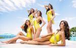 Khó lòng rời mắt khi thí sinh Hoa hậu Hòa bình Thái Lan mặc áo tắm